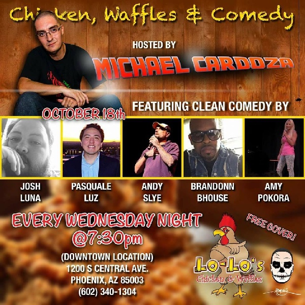 Chicken, Waffles & Comedy Weds