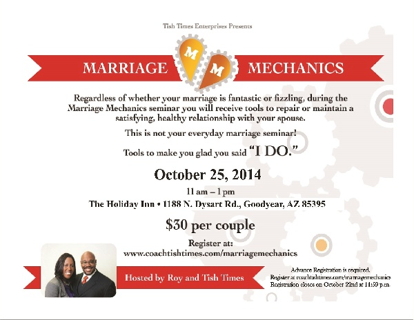 Marriage Mechanics