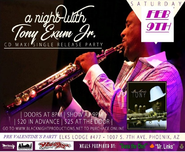 A Night With Tony Exum Jr