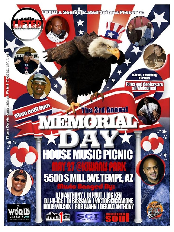 3rd Annual House Music Picnic