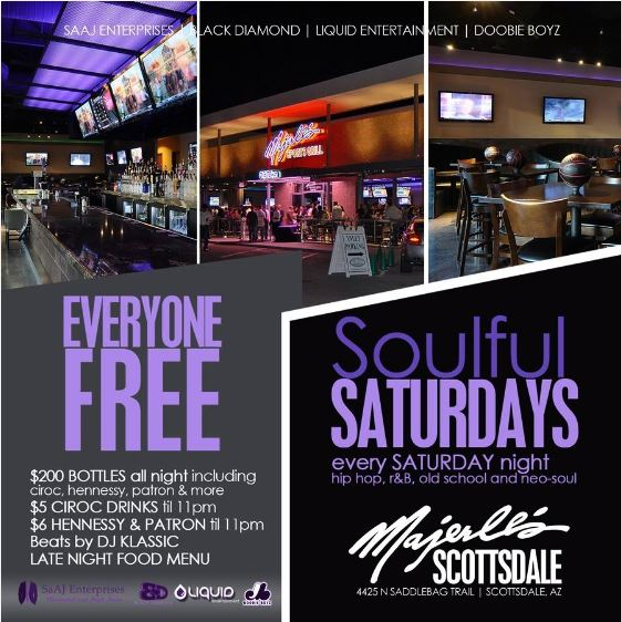 Soulful Saturdays at Majerle's