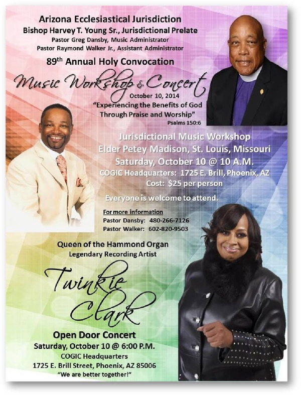 89th  COGIC Holy Convocation