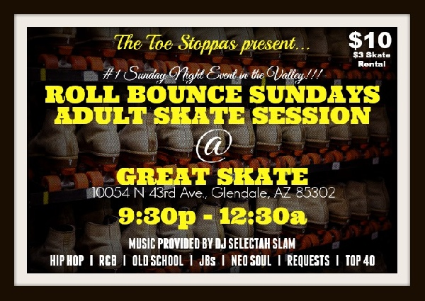 Roll Bounce Sundays Adult Skate